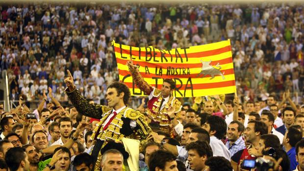 Ültima tarde de toros en Barcelona