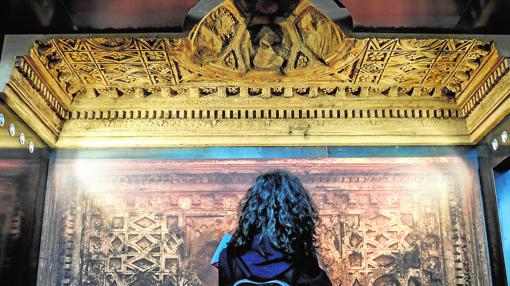 Techo del Templo de Bel