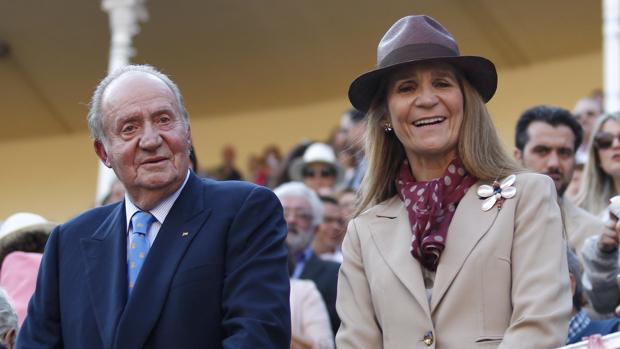 La Infanta Elena, premio Antena de Oro por su defensa de la tauromaquia