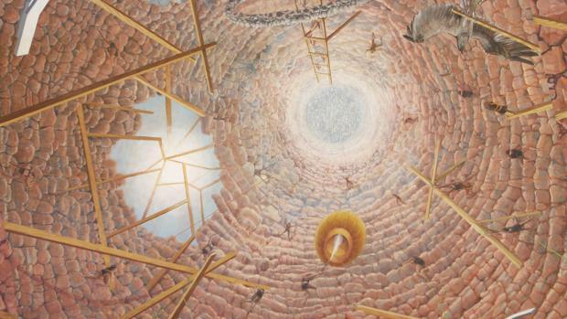 «Paraíso (Según la Divina Comedia)», de Simón Arrebola
