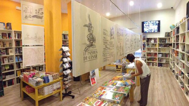 'El papiro del César', de la Galia a Cádiz