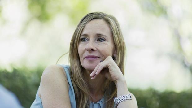 Andrea Wulf, autora de «La invención de la naturaleza», en el Real Jardín Botánico de Madrid