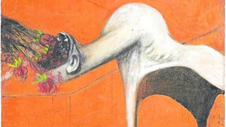 «Furia» (c. 1944), de Francis Bacon