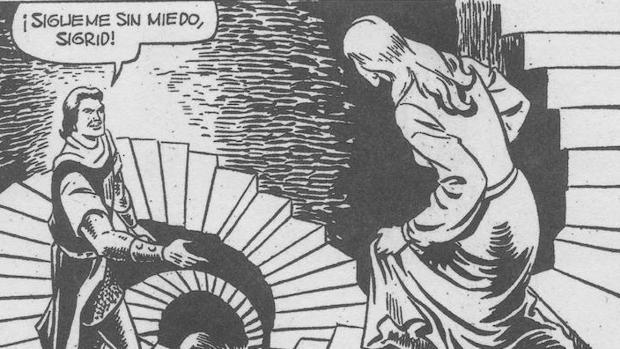 Veñeta perteneciente a «La voz de Zanku», de 1958