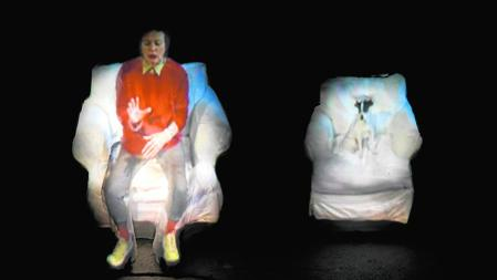«From the Air» (2008), de Laurie Anderson