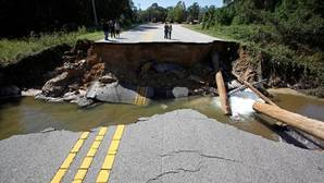 El huracán Matthew desentierra balas de cañón de la Guerra de Secesión en una playa de Carolina del Sur