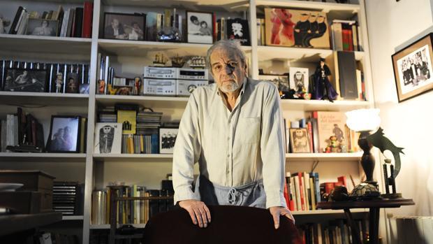 Juan Marsé, en su casa de Barcelona