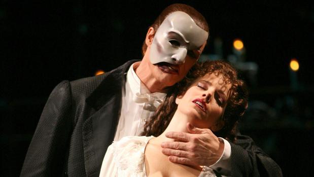Una escena de «El fantasma de la ópera»