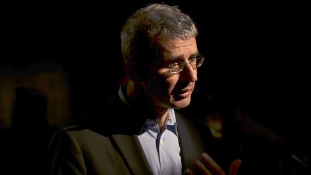 Edmund de Waal durante la presentación de la muestra