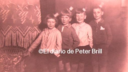 Brill, durante su infancia