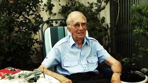 Peter Brill, durante la entrevista con Clavero