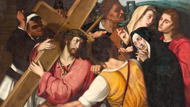 «Cristo camino del Calvario», de Scipione Pulzone
