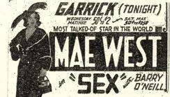 Cartel de «Sex»