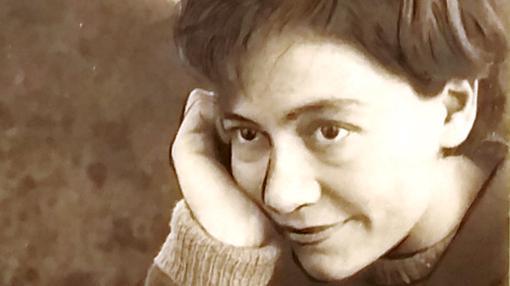 Fotografía de Alejandra Pizarnik, conservada en la Universidad de Princeton