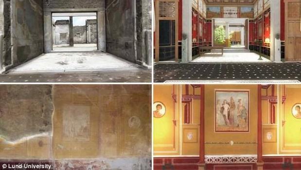 Así vivían los ricos de Pompeya