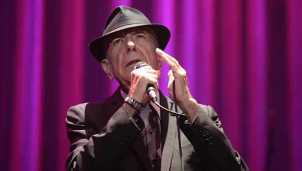 Leonard Cohen en 2012