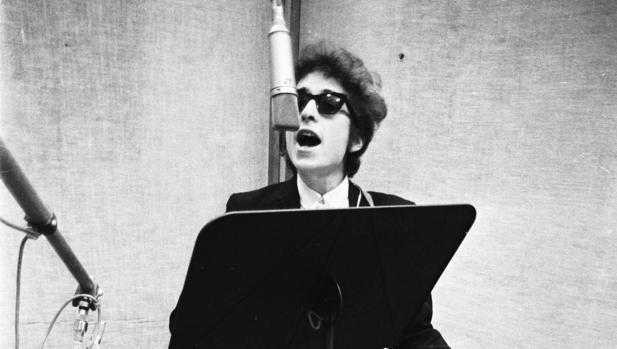 Bob Dylan, en una imagen de 1965