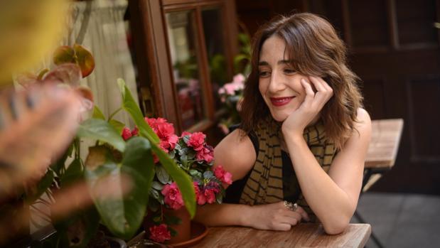 La actriz Marta Poveda, en la entrevista