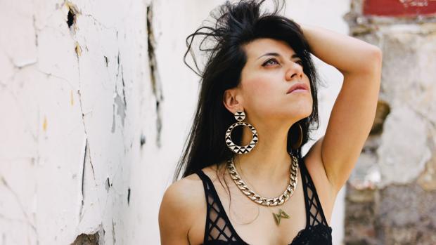 La cantante chilena Mariel Mariel