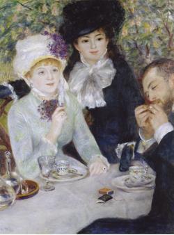 «Después del almuerzo», de Renoir