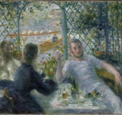 «El almuerzo de los remeros», de Renoir