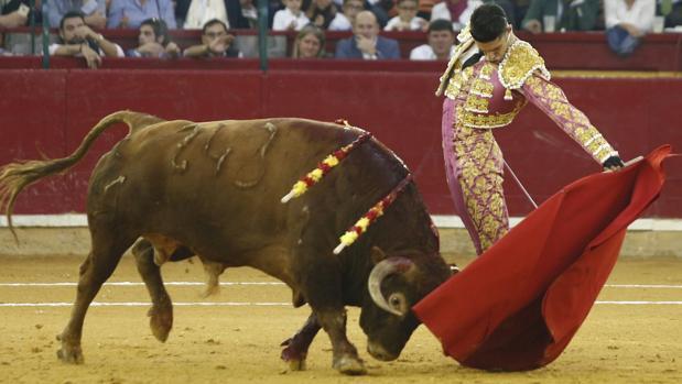 Alejandro Talavante, al natural el pasado sábado en Zaragoza
