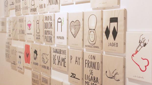 Participación de Javier Conde en «Sólo es sexo» (2016), en la galería Fernando Pradilla