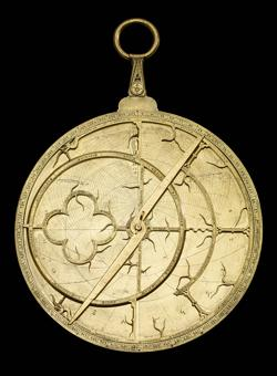 Astrolabio inglés, de 1342