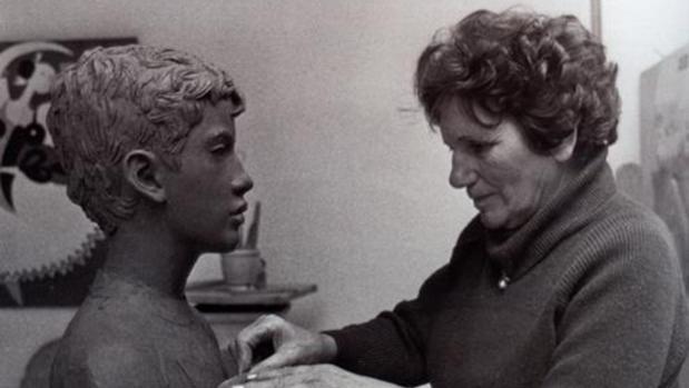 Carmen Jiménez en 1987
