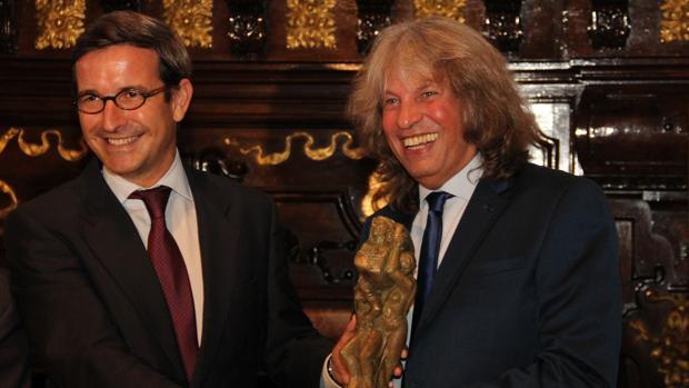 José Mercé, galardonado con el 'Compás del Cante' 2016 de la Fundación Cruzcampo