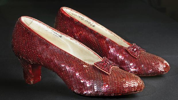Los zapatos rojos de Judy Garland
