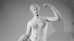 Una Venus del British Museum, dañada por un camarero