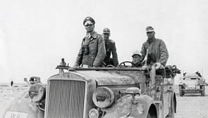 Muere el chófer militar que salvó la vida a Erwin Rommel, el general nazi al que odiaba Hitler