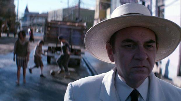 Luis Gnecco en el papel de Neruda en la película de Pablo Larraín