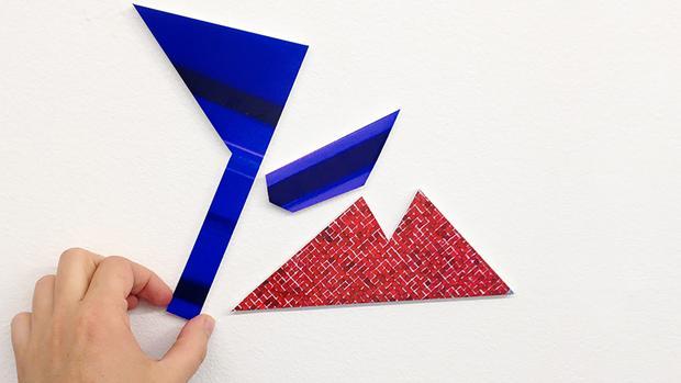Materiales de las obras de «Plex Series»