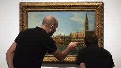 Canaletto también está presente en la exposición