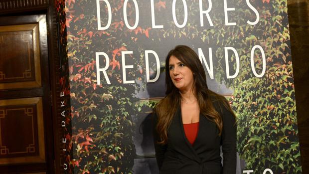 Dolores Redondo, fotografiada en el Instituto Cervantes de Madrid