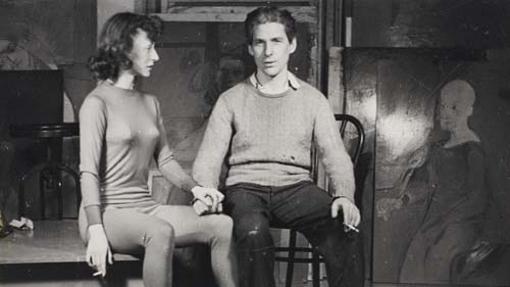Elaine y Willem de Kooning