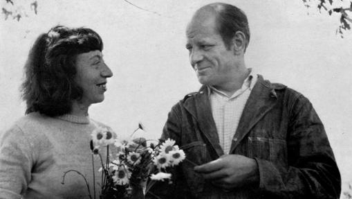 Lee Krasner y Jackson Pollock