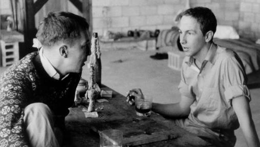 Jasper Johns y Robert Rauschenberg