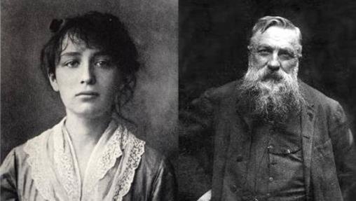 Camile Claudell y Auguste Rodin