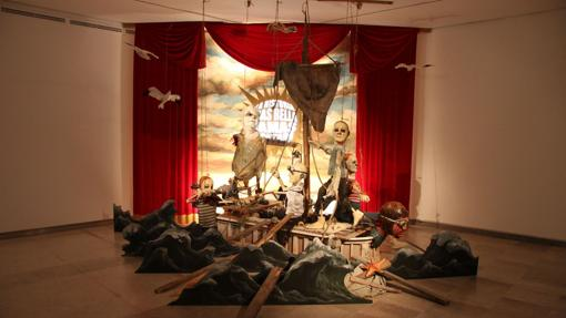 Una de las obras de «Teatrorum», de José Luis Serzo