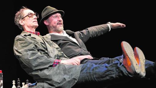 César Sarachu y Daniel Albaladejo en «Reikiavik», de Juan Mayorga