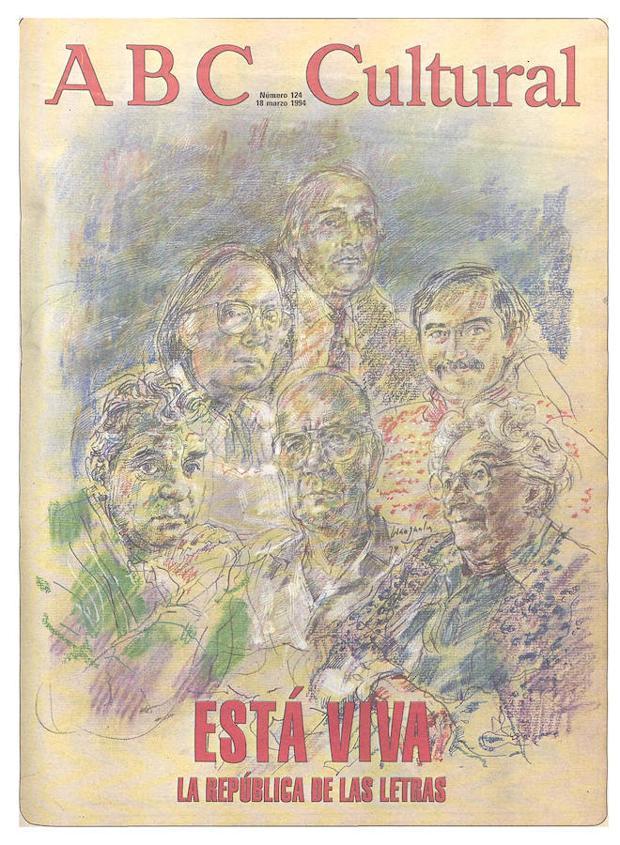 Portada de grandes autores para el 18 de marzo de 1994