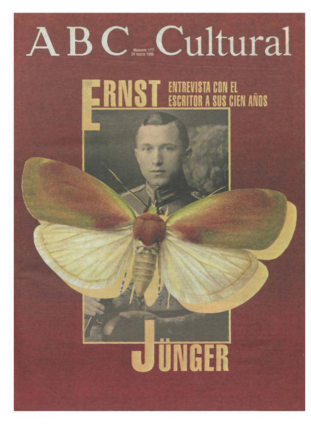 La entrevista al centenario Ernst Jünger fue portada el 24 de marzo de 1994