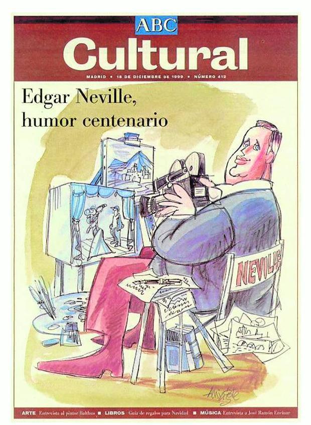 Antonio Mingote fue un habitual de las portadas del suplemento, como esta del 16 de diciembre de 1999