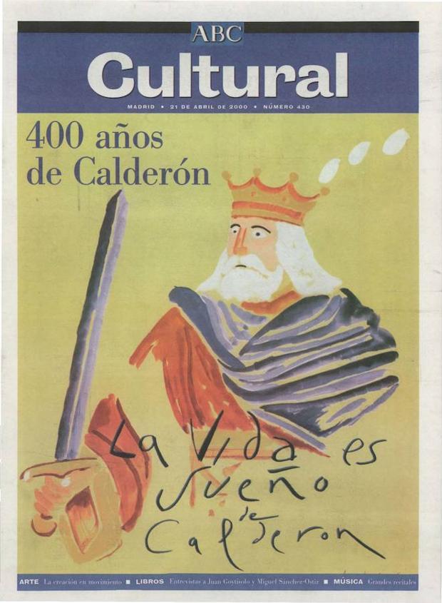 Calderón de la Barca en el número del 21 de abril de 2000