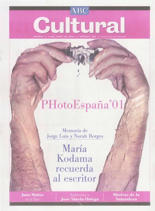 PHotoEspaña, tema central de portada el 9 de junio de 2001