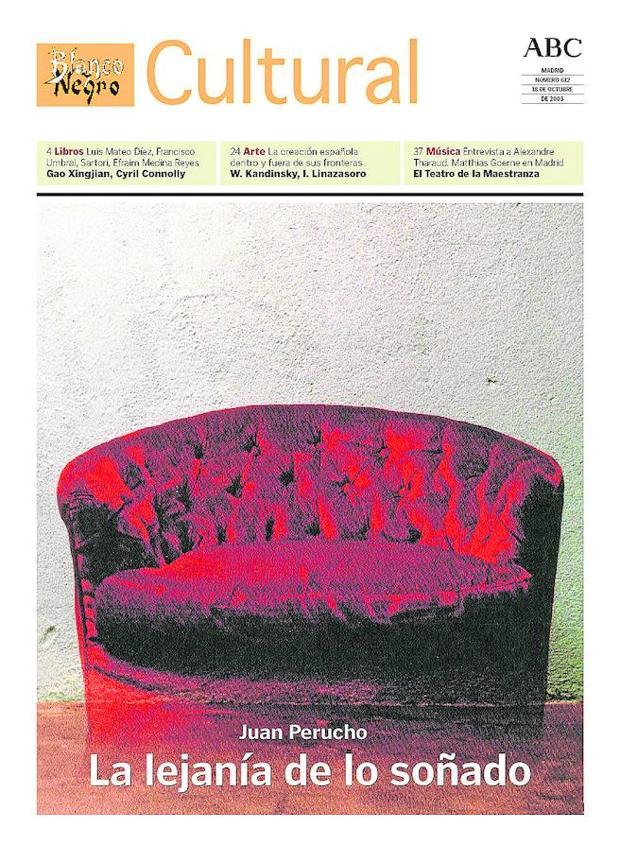 Juan Perucho abría el entonces «Blanco y Negro Cultural» del 18 de octubre de 2003