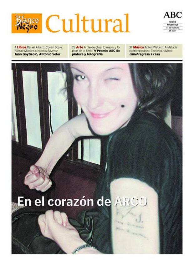 ARCO ha ocupado muchas portadas, como la del 14 de febrero de 2004